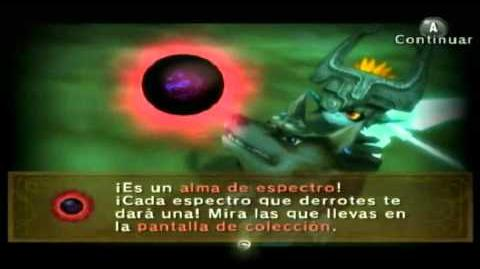 The legend of Zelda twilight princess Almas de espectro parte 5 (Español)