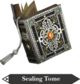 Hyrule Warriors Book of Sorcery Sealing Tome (Render).png