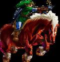 Link y Epona OoT3D