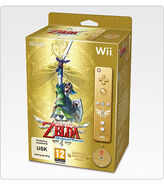 Caja de la edición 25 aniversario The Legend of Zelda Skyward Sword