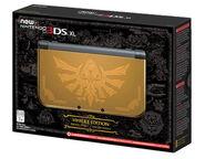 Caja de New Nintendo 3DS XL edición Hyrule