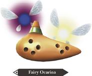 Hyrule Warriors Legends Ocarina Fairy Ocarina (Render)