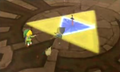 Master Sword in Wind Temple
