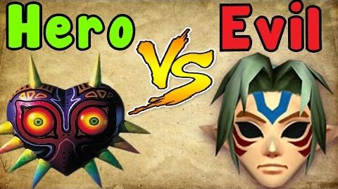 Zelda Theory - MAJORA is the HERO?! (zelda majora's mask)