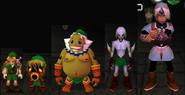 Alle Formen von Link (Majora's Mask)