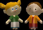 Joanna and Potova Figurine