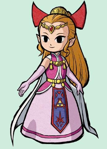 Image princesse zelda four swords png zeldawiki - La princesse zelda ...