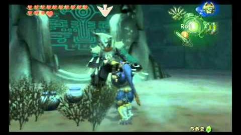 Legend of Zelda Twilight Princess - Zant Battle