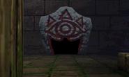 Piedra Sheikah en MM3D