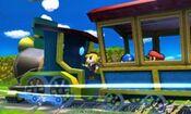 Captura Oficial Tren de los Dioses (SSB3DS)
