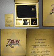 Interior de la edición limitada The Legend of Zelda The Minish Cap