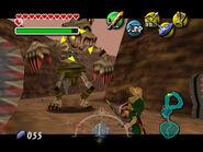 Link vs Capitán Keeta