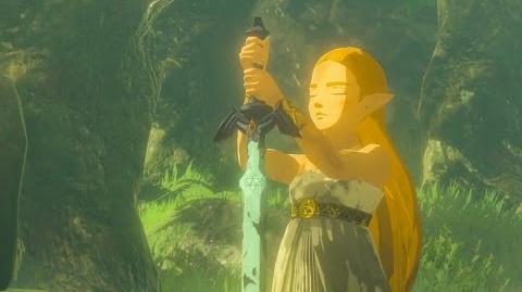 The Legend of Zelda - Breath of the Wild L'épée de légende (Souvenir 18)