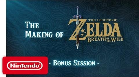 The Legend of Zelda Breath of the Wild – Session Bonus