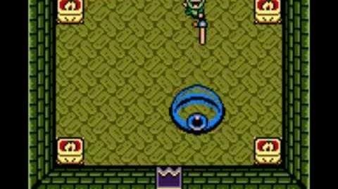 Zelda Link's Awakening - Boss 3 Slimes Eyes