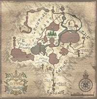 Map of Hyrule (Twilight Princess)