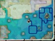 Mapa de debajo del agua ST