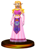 Zelda Trofeo SSBM