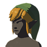 Breath of the Wild amiibo Rune Items (Hero of the Sky Hero's Clothes) Cap of the Sky (Icon).png