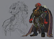 Concept Art Ganondorf 2 TP