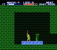 Link consiguiendo la flauta TAoL