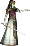 Princesa Zelda poseída TP