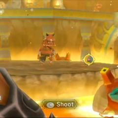 Link usa l'Arco all'E3 2010 - demo