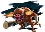 Bokoblin Artwork BotW