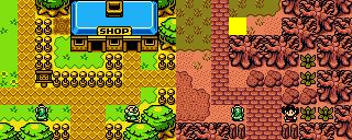 Lynna Shop Area (Past & Present)