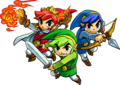 Tri Force Heroes artwork 1