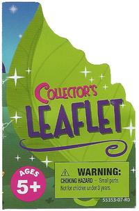 Collectors Leaflet Title