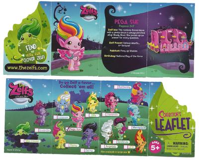 Pega Sue - Collectors Leaflet