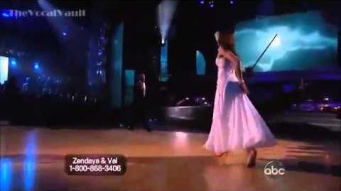 Zendaya Coleman and Val Chmerkovskiy - Viennese Waltz - Dancing with the Stars Season 16 - Week 3