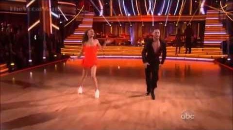 Zendaya and Jacoby Jones - Danceoff - Jive - Dancing with the Stars - Season 16 - Week 7