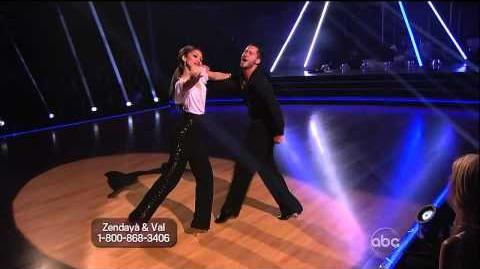 Zendaya Coleman & Val Chmerkovskiy - Samba - Week 4
