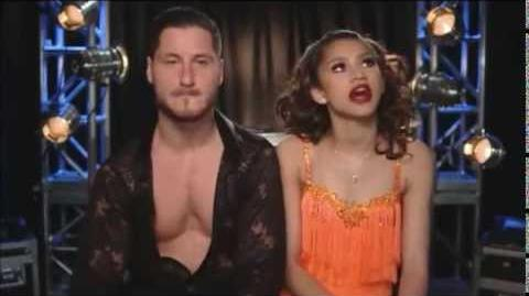 DWTS Season 16 Zendaya and Val Weekly Confessions
