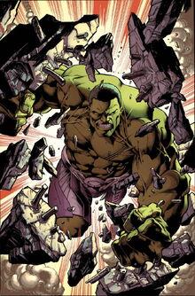 Hulk Vol 3 1 Bagley Variant Textless