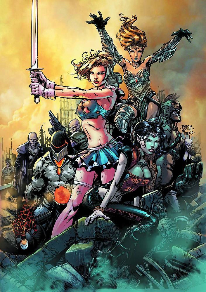 Grimm Fairy Tales Presents Realm War Vol 1 2 | Zenescope