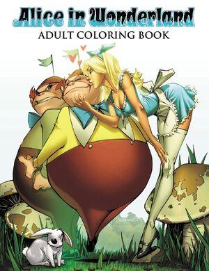 Alice in Wonderland Adult Coloring Book Vol 1 1