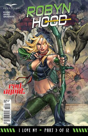 Grimm Fairy Tales Robyn Hood I Love NY Vol 1 3
