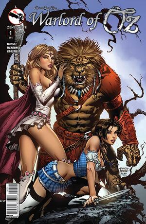 Grimm Fairy Tales Presents Warlord of Oz Vol 1 1