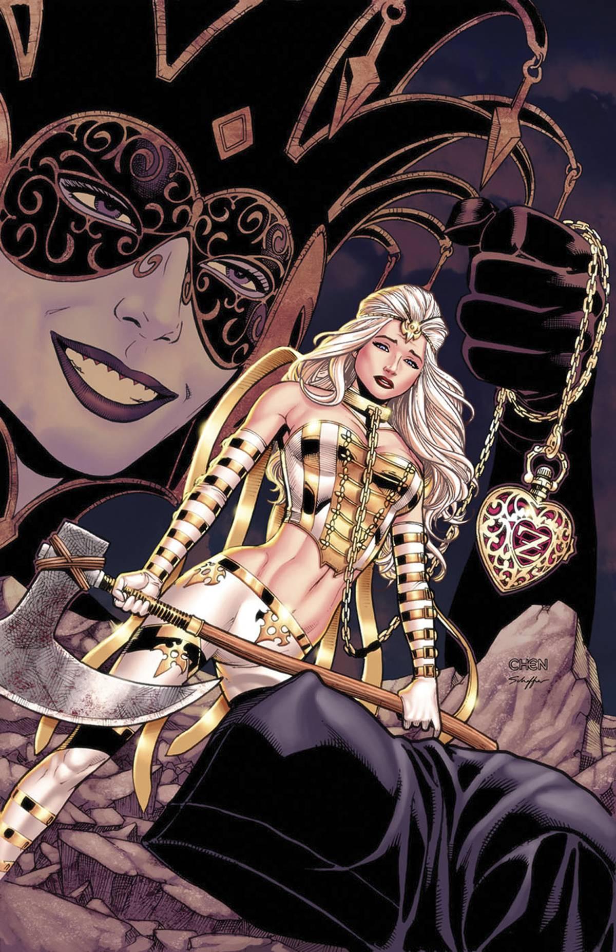Grimm Fairy Tales Presents White Queen Vol 1 1 | Zenescope