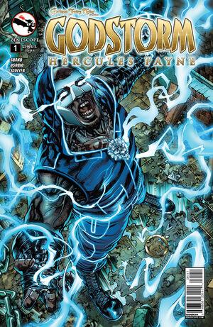 Grimm Fairy Tales Presents Godstorm Hercules Payne Vol 1 1