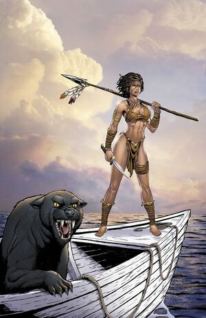 Grimm Fairy Tales Presents The Jungle Book Fall of the Wild Vol 1 4-PA