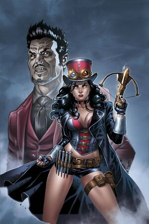 Grimm Fairy Tales Presents Helsing vs Dracula Vol 1 1-PA