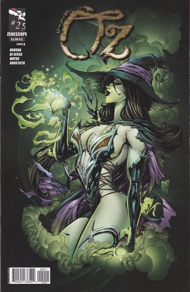 Grimm Fairy Tales Presents Oz Vol 1 2 - Zenescope