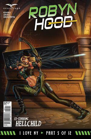 Grimm Fairy Tales Robyn Hood I Love NY Vol 1 5