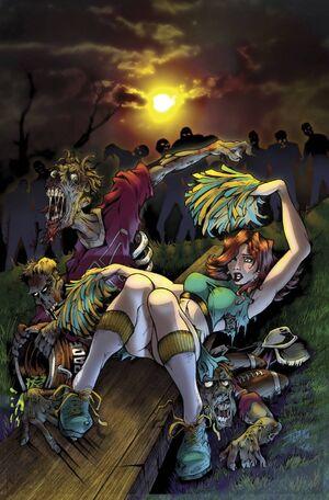 Zombies vs Cheerleaders 2015 St. Patty's Day Vol 1 1-PA
