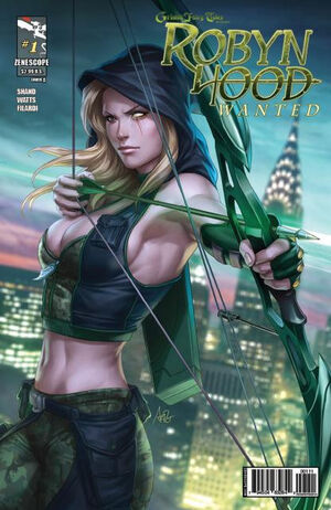 Robyn Hood Wanted Vol 1 1