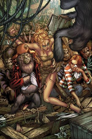 Grimm Fairy Tales Presents The Jungle Book Fall of the Wild Vol 1 3-PA